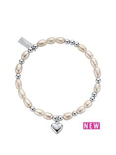 chlobo-chlobo-sterling-silver-mini-pearl-puffed-heart-bracelet
