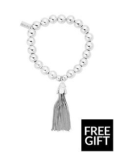 chlobo-chlobo-sterling-silver-medium-ball-tassel-bracelet
