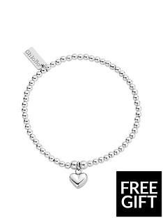 chlobo-chlobo-sterling-silver-cute-charm-puffed-heart-bracelet