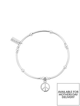 chlobo-sterling-silver-mini-noodle-ball-peace-bracelet