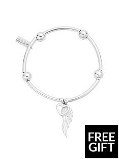 chlobo-chlobo-sterling-silver-noodle-ball-open-heart-amp-angel-wing-bracelet