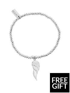 chlobo-chlobo-sterling-silver-mini-disc-angel-wing-bracelet