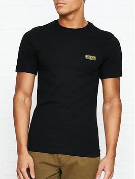 barbour-international-international-small-logo-t-shirt-black
