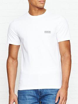 barbour-international-international-small-logo-t-shirt-white