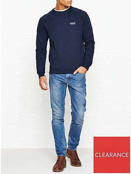 barbour-international-international-small-logo-crew-neck-sweatshirt-navy