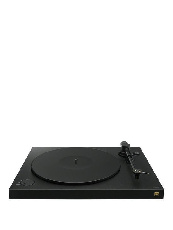 PSHX500 Turntable with Hi-Res USB Recording - Black