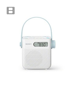 sony-icf-s80-splash-proof-shower-radio-with-speaker-white