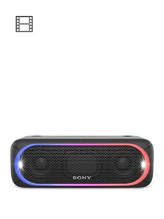 sony-srs-xb30-powerful-portable-bluetooth-speaker-with-extra-bass-and-lighting-black