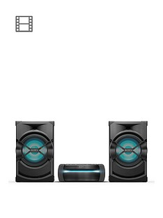 Sony SHAKE-X30DHigh Power Audio System with Lighting Effects and CD/DVD Player - Black