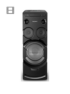 Sony MHC-V77DW High Power Home Audio System with Bluetooth and Wi-Fi - Black