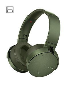 sony-mdr-xb950n1-wireless-noise-cancelling-extrabass-headphones-green