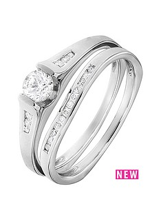 love-diamond-9ct-white-gold-50-points-white-diamond-solitaire-bridal-set