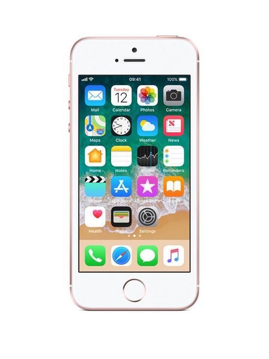 Apple Iphone Se 32gb Rose Gold Very Co Uk
