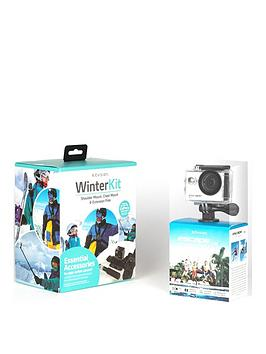 Image of Kitvision Escape 5 (720P) Ski Action Camera With Accessories