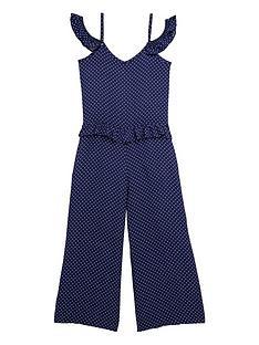 v-by-very-girls-polka-dot-three-quarternbsplength-frilled-jumpsuit