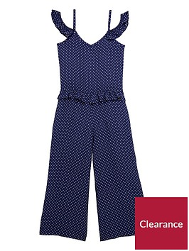 v-by-very-girls-polka-dot-three-quarternbsplength-frilled-jumpsuit