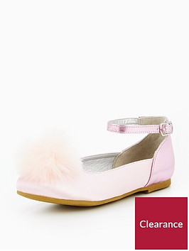 mini-v-by-very-pippa-pom-pom-ankle-strap-ballerina