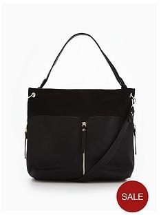 miss-selfridge-zip-hobo-bag-blacknbsp