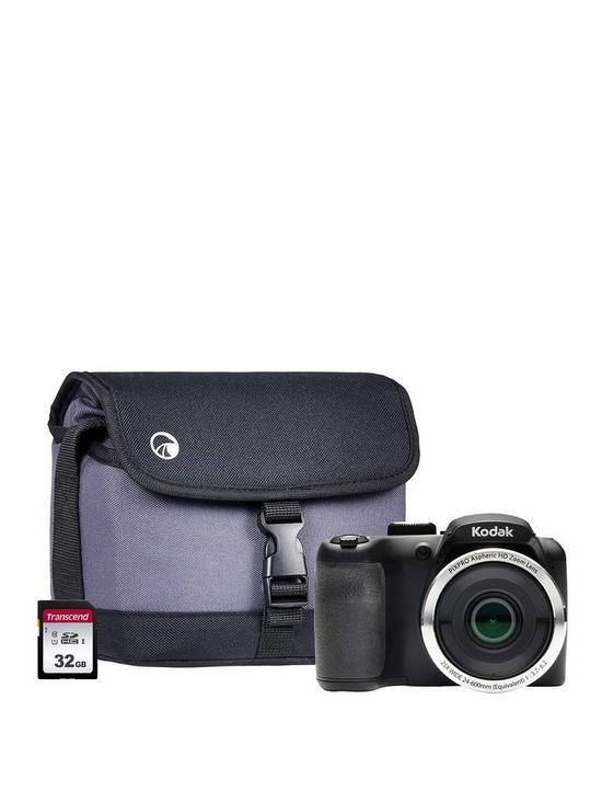 PIXPRO AZ252 Astro Zoom Bridge Camera inc 32GB SD and Case
