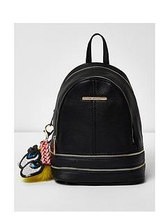 river-island-mini-charm-zip-backpack
