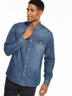 wrangler-western-denim-shirt