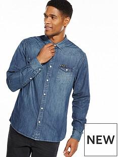 wrangler-western-denim-shirt