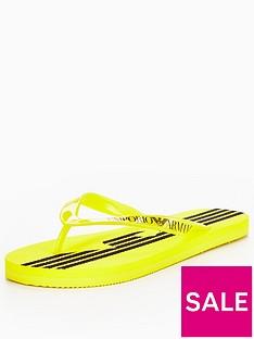 emporio-armani-flip-flop-yellow