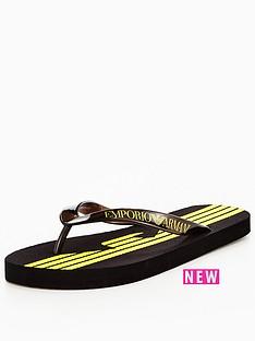 emporio-armani-flip-flop-black