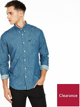 lee-denim-button-down-shirt