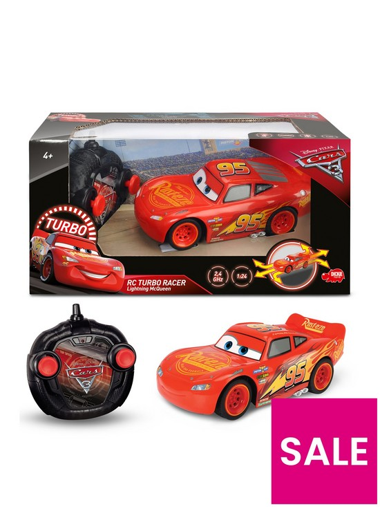 Dickie Toys Cars 3 Mcqueen 1 24 Very Co Uk