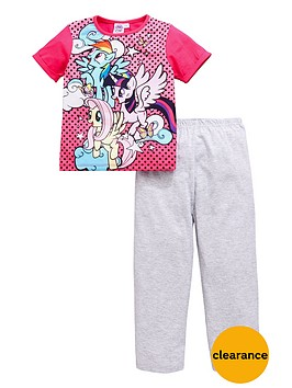 my-little-pony-my-little-pony-girls-short-sleeve-pyjamas