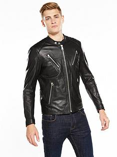 replay-leather-biker-jacket