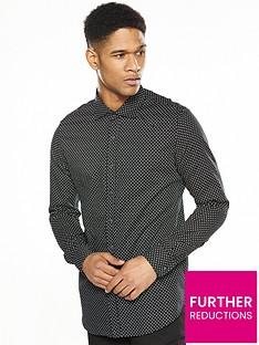 replay-star-print-long-sleve-shirt
