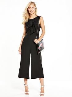 v-by-very-twist-detail-culotte-jumpsuit-black