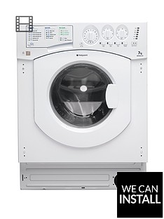 hotpoint-aquarius-bhwm1292-1200-spin-7kg-load-integrated-washing-machine-with-optional-installation-white
