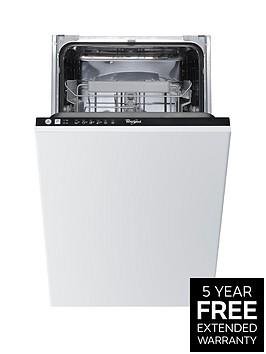 whirlpool-adg211-built-in-10-place-slimline-dishwasher-withnbspoptional-installation-stainless-steel