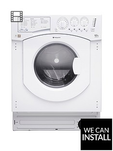 hotpoint-aquarius-bhwd129nbspbuilt-in-65kg-wash-5kgnbspdry-1200-spin-washer-dryer-with-optional-installation-white