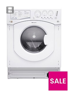 hotpoint-aquarius-bhwd129nbspbuilt-in-65kg-wash-5kgnbspdry-1200-spin-washer-dryer-with-optional-installation-white