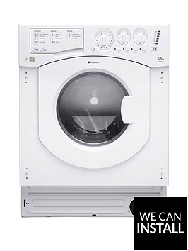 hotpoint-aquarius-bhwd129nbspintegrated-65kg-wash-5kgnbspdry-1200-spin-washer-dryer-with-optional-installation-white