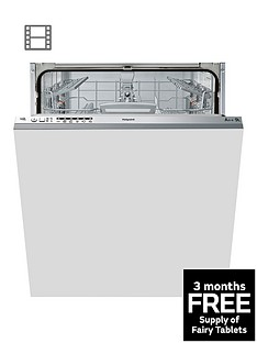 hotpoint-aquarius-ltb6m126uk-14-place-built-in-dishwasher-with-optional-installation-graphite