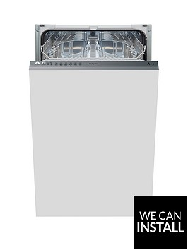 hotpoint-aquarius-lstb6m19nbspintegrated-10-place-slimline-dishwasher-with-optional-installation-stainless-steel