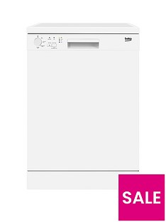 Beko DFN04210W 12-Place Dishwasher - White Best Price, Cheapest Prices