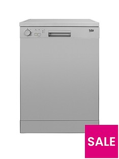 Beko DFN04210S 12-Place Dishwasher - Silver
