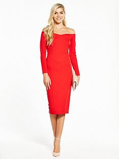 v-by-very-bardot-ponte-bodycon-dress