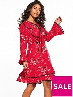 v-by-very-printed-ruffle-frill-dress