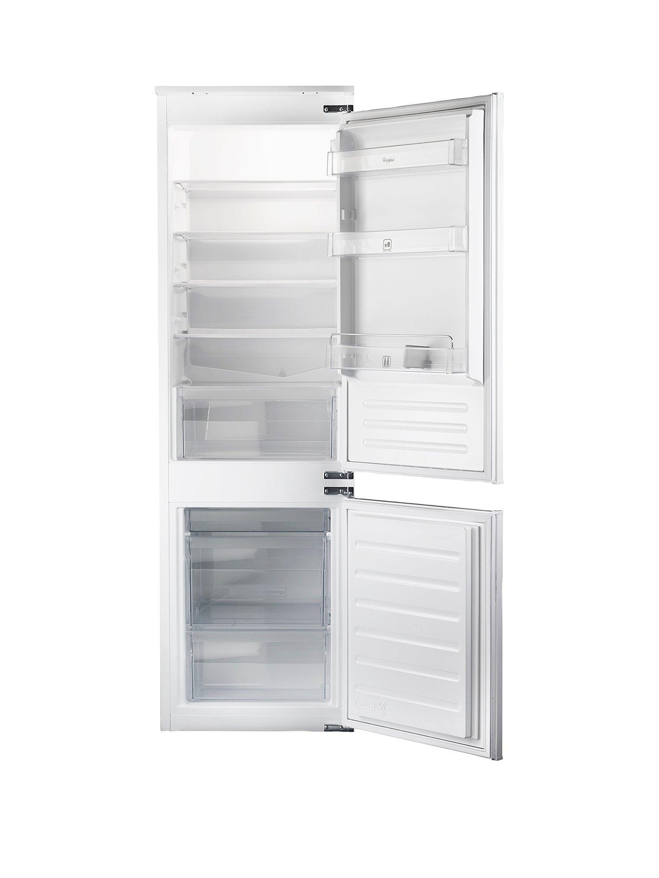 whirlpool art6550asf builtin fridge freezer with optional white