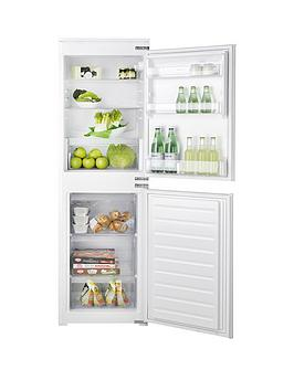 Hotpoint Hmcb50501 177Cm Tall, 54Cm Wide Integrated Fridge Freezer - White - Fridge Freezer With Installation Best Price, Cheapest Prices