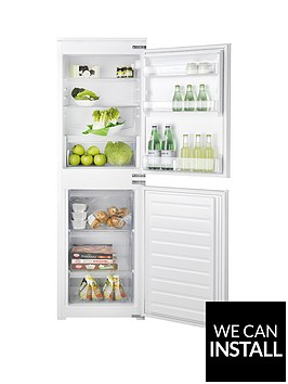 hotpoint-aquariusnbsphmcb5050aanbsp177cmnbsptallnbsp54cmnbspwide-integrated-auto-defrost-fridge-freezer-with-optional-installation-white