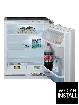hotpoint-hla1-60cmnbspbuilt-in-under-counter-fridge-with-optional-installation-white