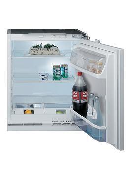Hotpoint Hla1Uk1 60Cm Built In Under Counter Fridge - White - Fridge Only